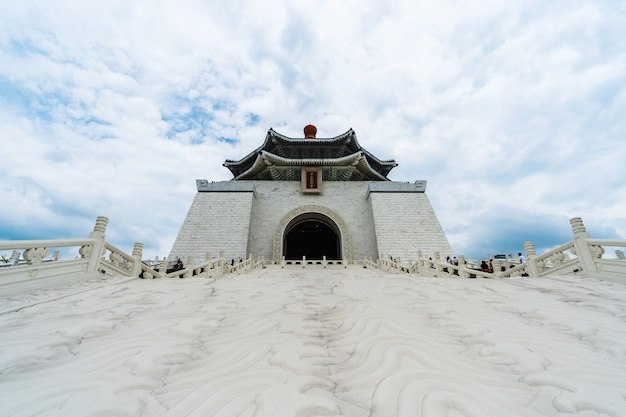 Chiang kai-shek memorial hall in taipeh, taiwan