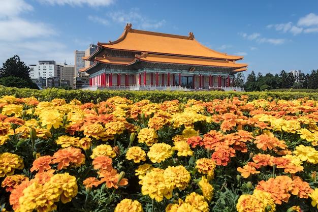 Chiang kai-shek memorial hall in taipeh, taiwan