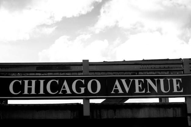 Chicago avenue zeichen