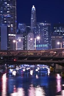Chicago franklin brücke