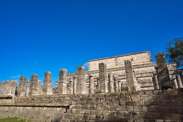 Chichen itza tausend säulentempel