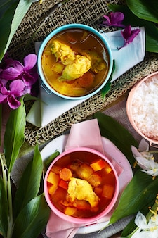Chicken mussaman curry
