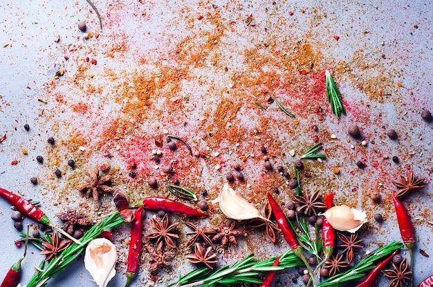 Chili mit rosmaringewürzen