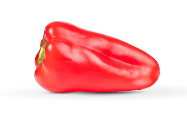Chili pfeffer auf einem weißen