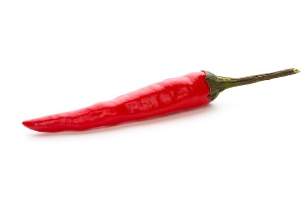 Chili pfeffer isoliert isoliert