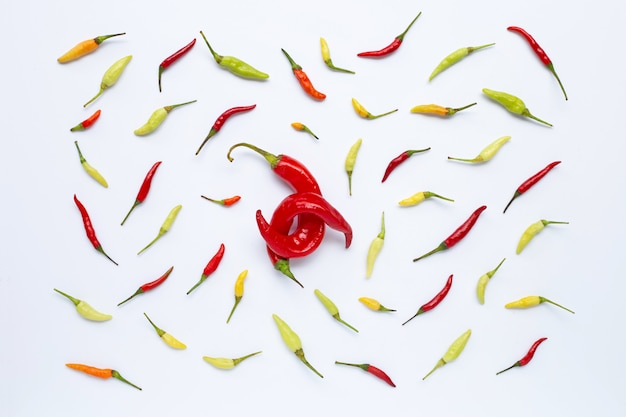 Chili pon weiß