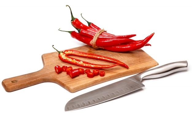 Chili und messer