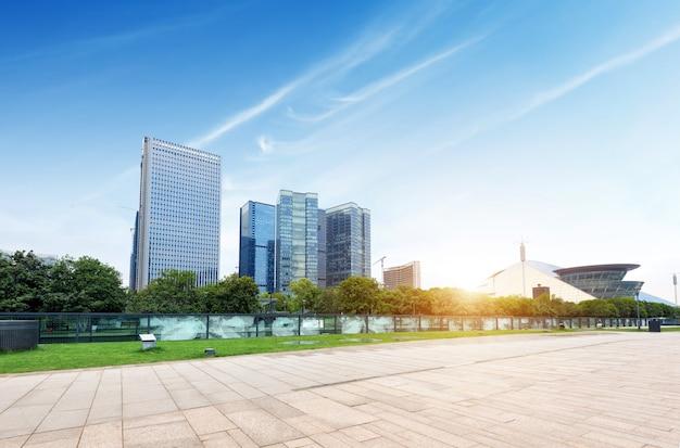 China hangzhou stadtlandschaft