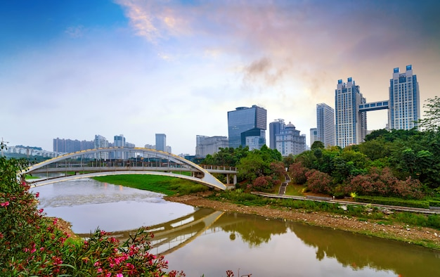 China nanning stadtbild