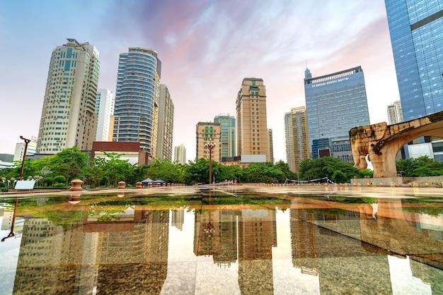 China nanning wolkenkratzer