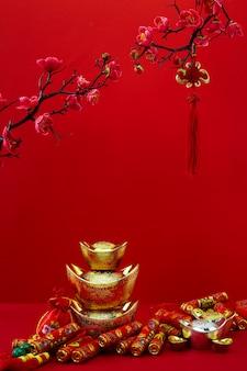 Chinesische dekoration des neuen jahres für festival