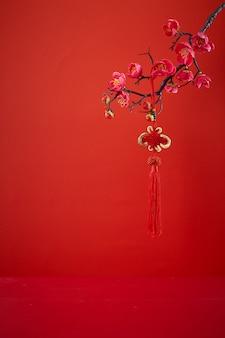 Chinesische dekoration des neuen jahres für frühlingsfest