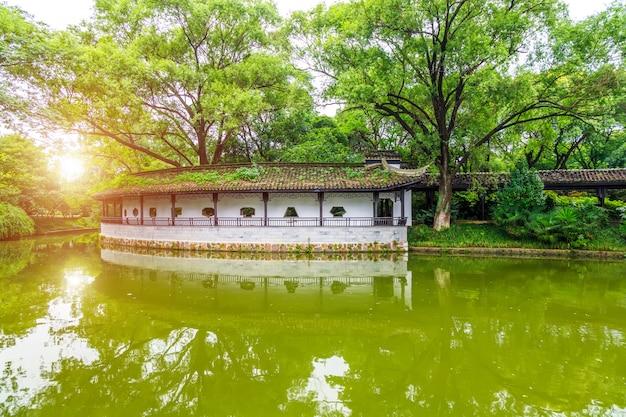 Chinesische klassische architektonische gärten