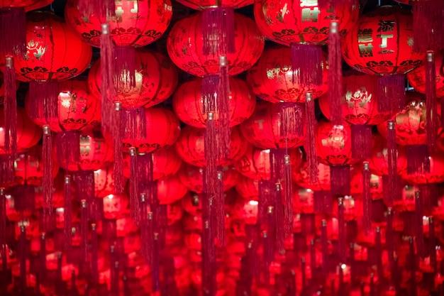 Chinesische laterne für chinesisches festival des neuen jahres