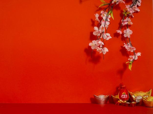 Chinesische neujahrsdekorationen.