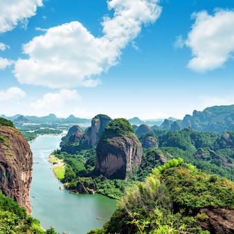 Chinesische unheimliche landschaften