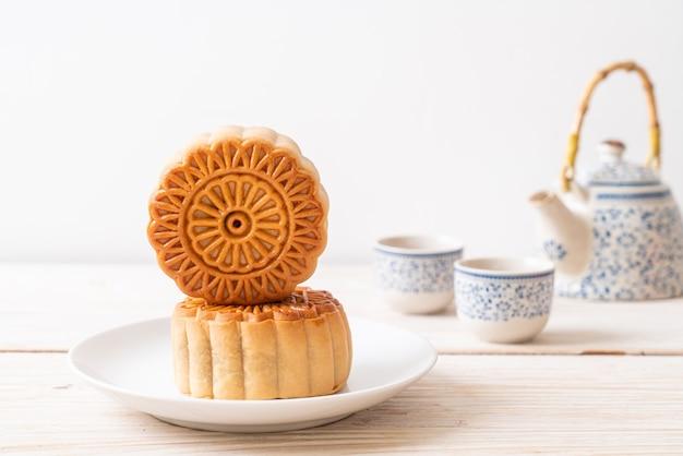 Chinesischer mondkuchen zum mittherbstfest
