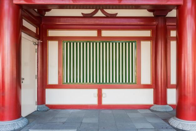 Chinesischer stil der alten mauer
