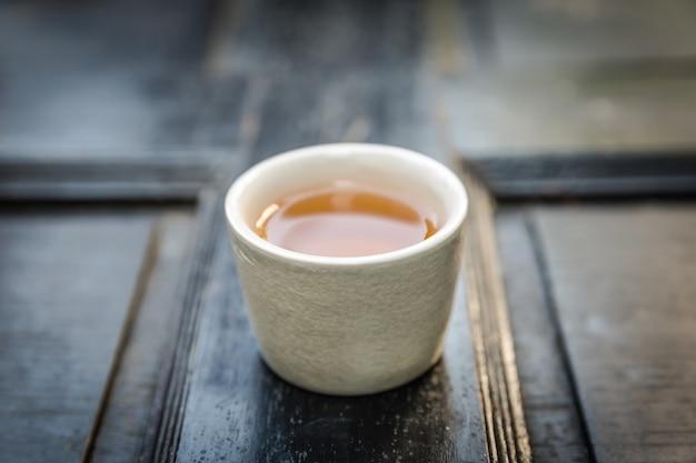 Chinesischer tee, vintage-stil