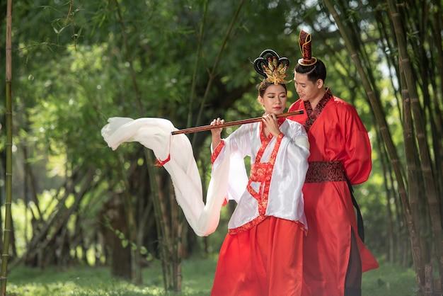 Chinesisches antikes kostüm
