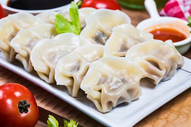 Chinesisches jiaozi-neues jahr-essen
