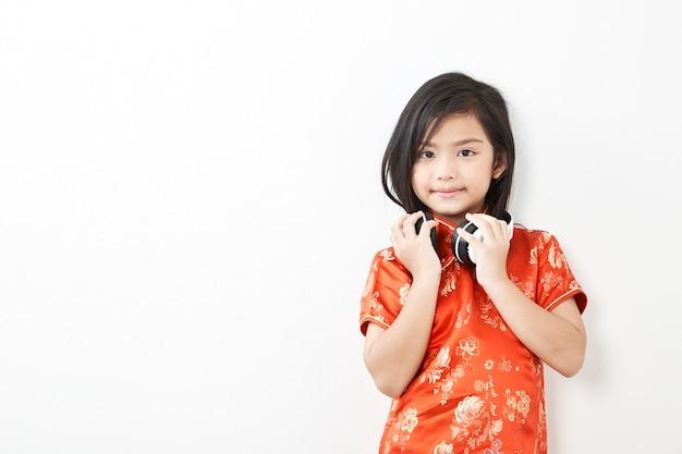 Chinesisches neues jahr des mädchenkindes