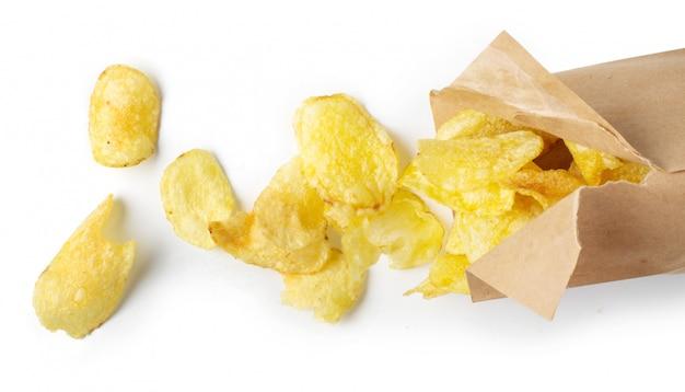 Chips auf dem tisch