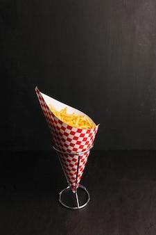 Chips im kegel