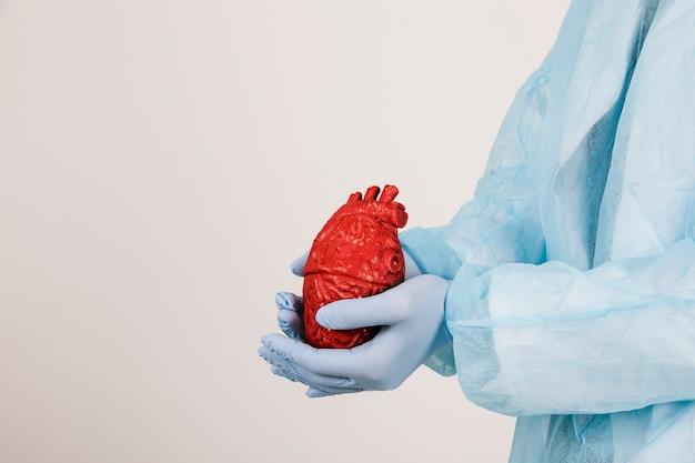 Chirurg mit herz
