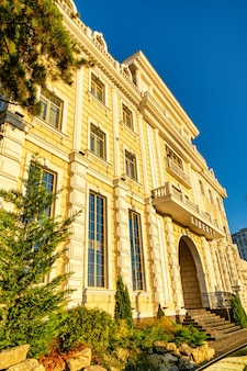 Chisinau moldawien oktober moderner hausbau moderne gebäudearchitektur Premium Fotos