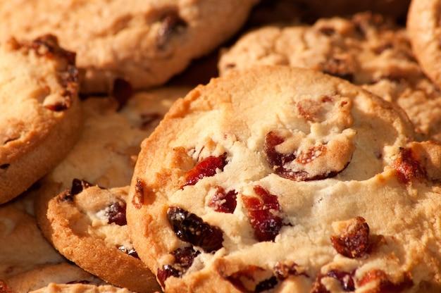 Chocolate chip cookies hintergrund
