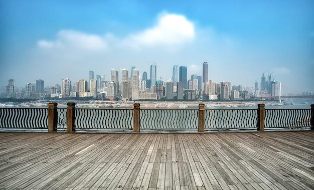 Chongqing city architektur landschaft und skyline