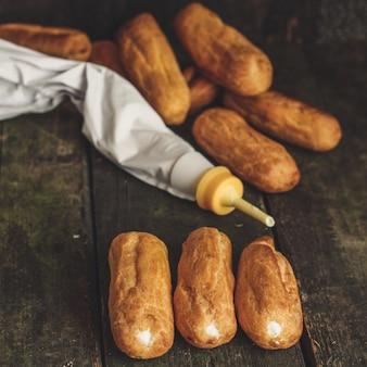 Choux-sahne-kuchen