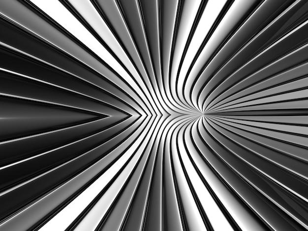 Chrom-farbgeometrie grauer metallstreifenhintergrund