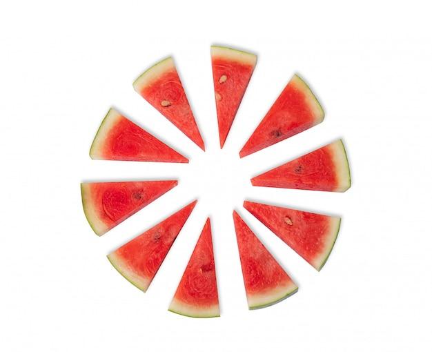 Citrullus lanatus ist sommerfrucht