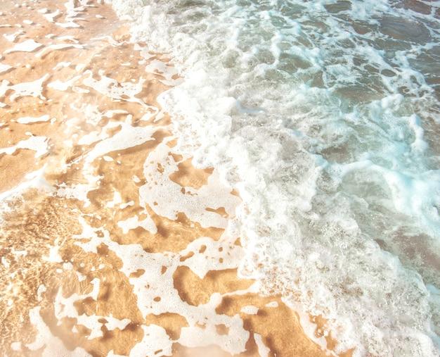 Cleared meerwasser hintergrund