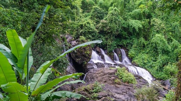 Cliff creek wasserfall