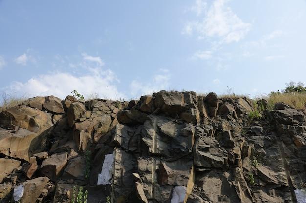 Cliff eines berges