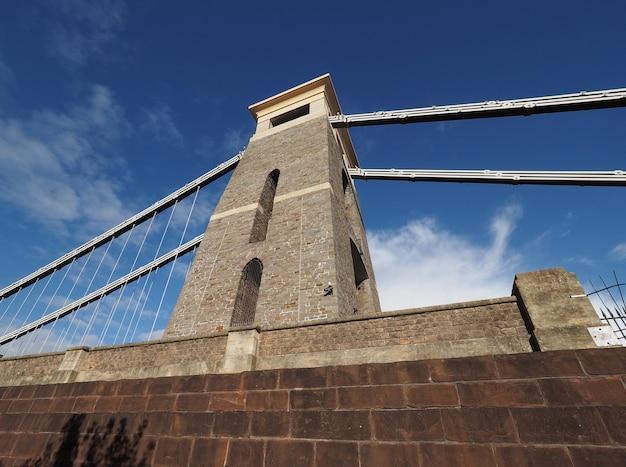 Clifton-hängebrücke in bristol