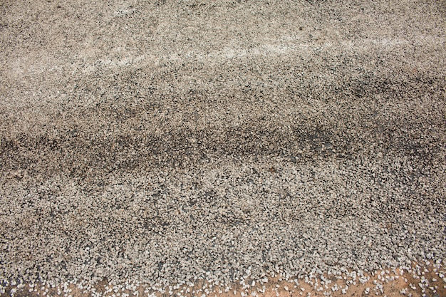 Close-up asphalt auf der straße im bau.
