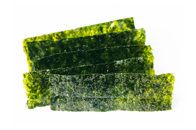 Close-up der trockenen algen