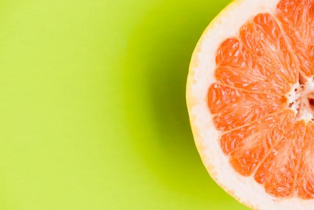 Close up grapefruit hintergrund