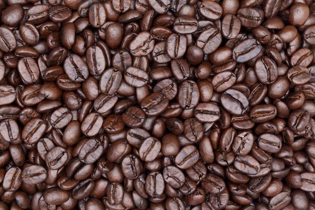 Close up schuss kaffee hintergrund