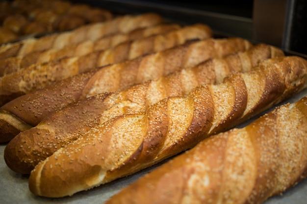 Close-up von französisch baguette