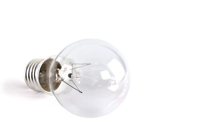 Close-up von transparenten glühbirne