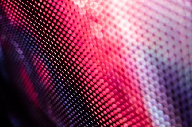 Closeup led unscharfer bildschirm. abstract hintergrund ideal für design.