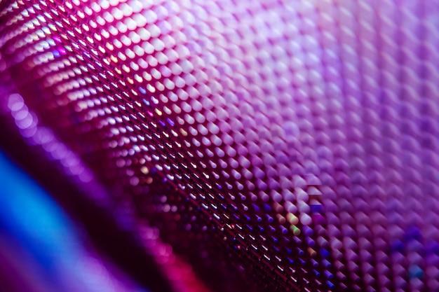 Closeup led unscharfer bildschirm. abstract hintergrund ideal für design. Premium Fotos