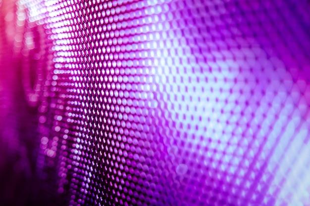 Closeup led unscharfer bildschirm. led-weichzeichnerhintergrund. abstrakter hintergrund ideal für design.