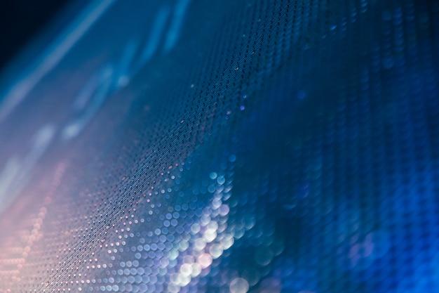 Closeup led unscharfer bildschirm. led-weichzeichnungshintergrund. abstrakter hintergrund