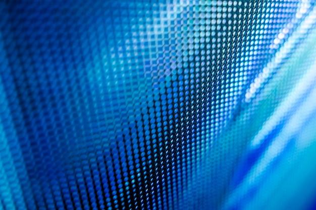 Closeup led unscharfer bildschirm. led-weichzeichnungshintergrund